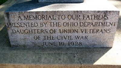 Ohio Dept, DUVCW Memorial image. Click for full size.