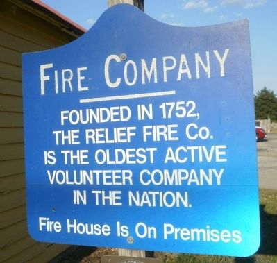 Fire Company Marker image. Click for full size.