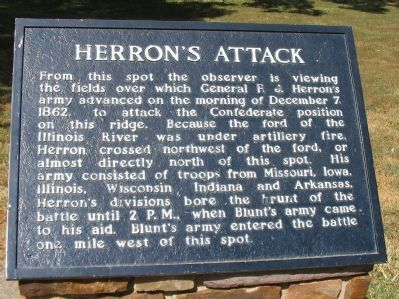 Herron's Attack Marker image. Click for full size.