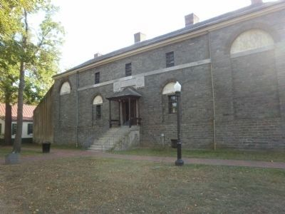 Front of Historic Prison image. Click for full size.