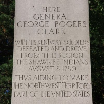 General George Rogers Clark Marker image. Click for full size.