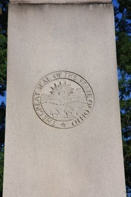 General George Rogers Clark / Tecumseh Marker image. Click for full size.