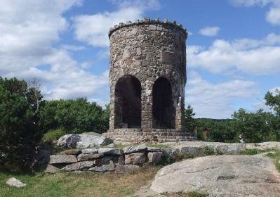 Mount Battie Memorial Tower image. Click for full size.