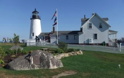 Wider View with Pemaquid Lighthouse image. Click for full size.