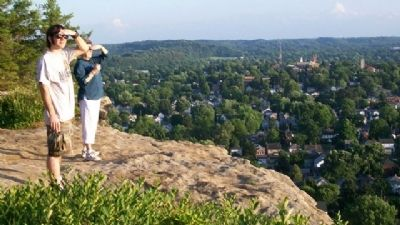 Atop Standing Stone (Mount Pleasant) image. Click for full size.
