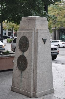 Pony Express Marker Monument image. Click for full size.