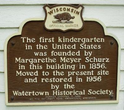 First Kindergarten Marker image. Click for full size.