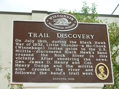 Trail Discovery Marker image. Click for full size.