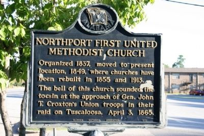 Northport First United Methodist Church Marker image. Click for full size.