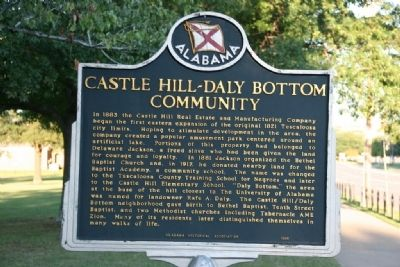 Castle Hill - Daly Bottom Community Marker image. Click for full size.