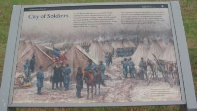 City of Soldiers Marker image. Click for full size.