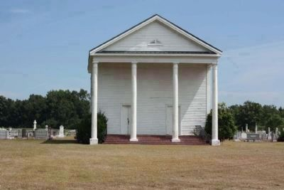 National Register of Historic Places: Lynchburg Presbyterian Church image. Click for full size.