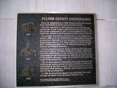 Fulton County Courthouses Marker image. Click for full size.