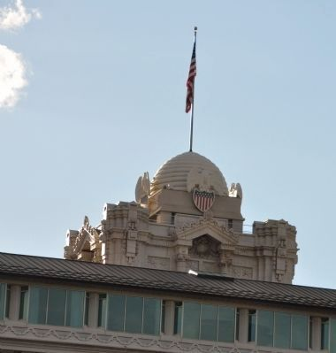Cupola on Top of Hotel Utah image. Click for full size.