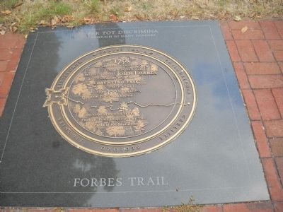 Forbes Trail Marker image. Click for full size.