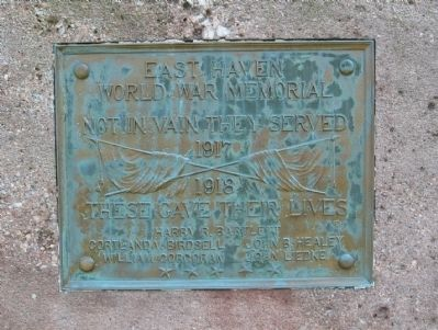 East Haven World War Memorial image. Click for full size.