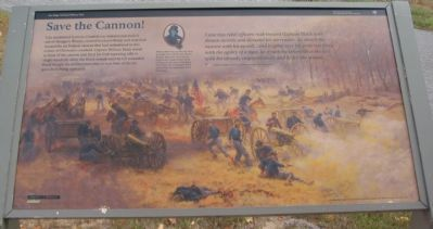 Save the Cannon! Marker image. Click for full size.