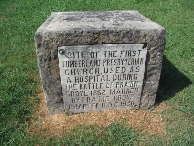 Cumberland Presbyterian Church Marker image. Click for full size.