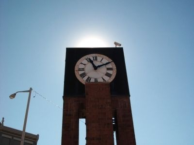 Sun over the Clock Tower image. Click for full size.