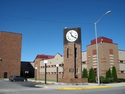 Other View - - Cass County Government Building and the Clock Tower image. Click for full size.