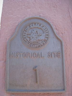 City of Placerville Historic Site #1 Marker image. Click for full size.