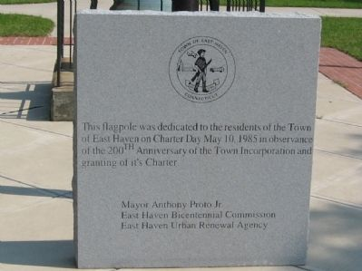 East Haven Charter Day Marker image. Click for full size.