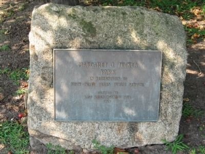 Margaret Tucker Park Marker image. Click for full size.