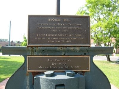 Bronze Bell Marker image. Click for full size.