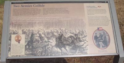 Two Armies Collide Marker image. Click for full size.