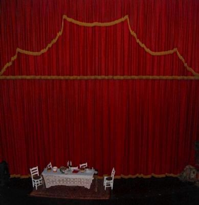 Abbeville Opera House Interior<br>Stage from Balcony image. Click for full size.
