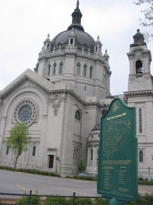 Nearby Cathedral of Saint Paul image. Click for full size.