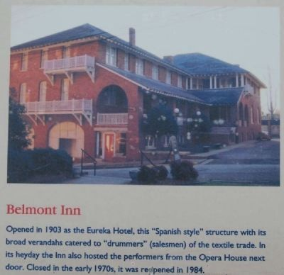 Abbeville Square Marker -<br>Belmont Inn image. Click for full size.