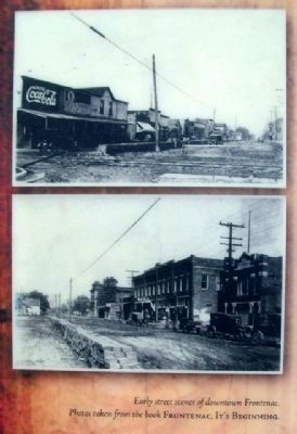 Photos of Frontenac, Kansas on Marker image. Click for full size.