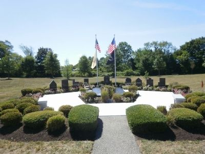 Monroe Township Memorial Park Sculpture image. Click for full size.