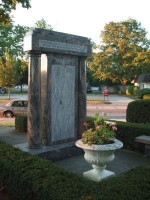 Full - Obverse Side - - Honor Roll - Marshall County Indiana Marker image. Click for full size.