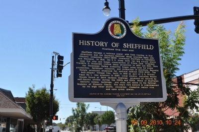 History of Sheffield Marker (side 2) image. Click for full size.
