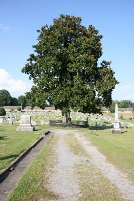 Colonel John G. Cullmann Burial Site in the Cullman City Cemetery image. Click for full size.
