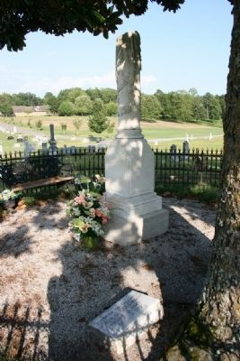 Colonel John G. Cullmann Burial Site image. Click for full size.