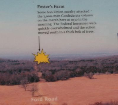 Notation for Foster's Farm image. Click for full size.