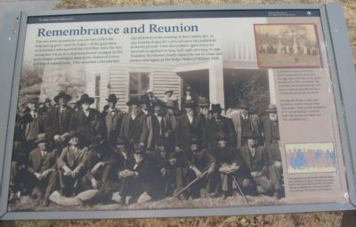 Remembrance and Reunion Marker image. Click for full size.
