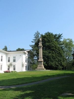 Branford Soldiers Monument image. Click for full size.