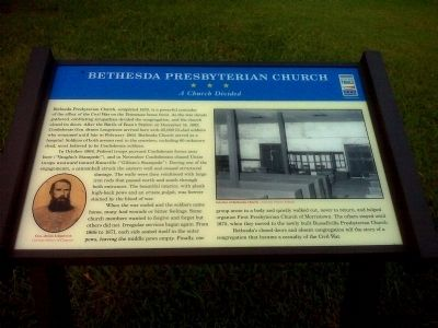 Bethesda Presbyterian Church Marker image. Click for full size.