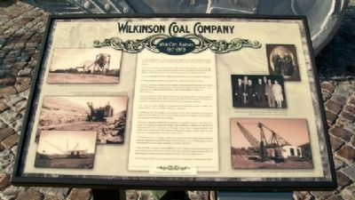 Wilkinson Coal Company Marker image. Click for full size.