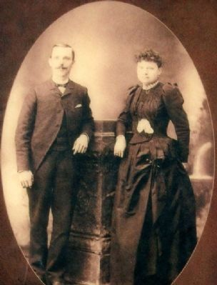 Photo of William & Mary Wilkinson on Marker image. Click for full size.