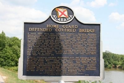 Side A: Home Guard Defended Covered Bridge image. Click for full size.