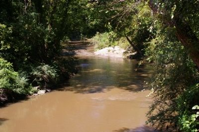 Peachtree Creek image. Click for full size.