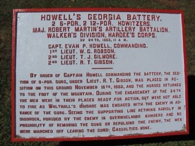 Howell's Georgia Battery Tablet image. Click for full size.