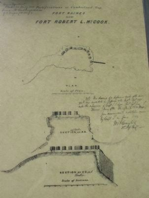 Plans of Fort McCook image. Click for full size.