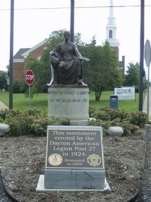 Rockingham County World War I Memorial image. Click for full size.