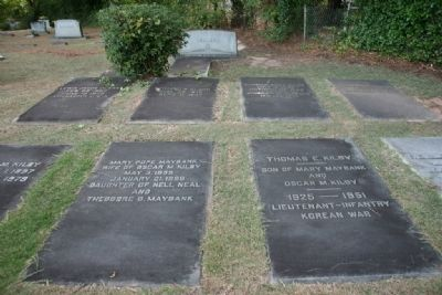 The Kilby Family Plot image. Click for full size.